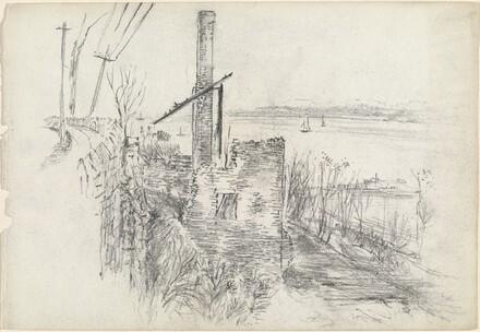 Mill Ruins along the Hudson