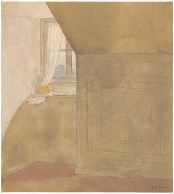 A Corner of the Artist's Room, Rue Terre Neuve, Meudon
