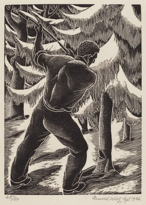 Untitled (Woodcutter)