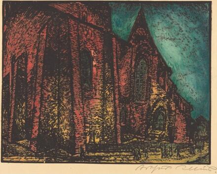 Nächtliche Kirche (Church by Night)