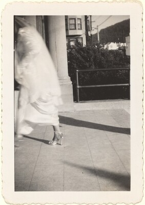 Untitled (Blurred bride)