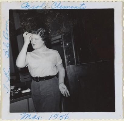 Carol Clements T.L.C. File Room