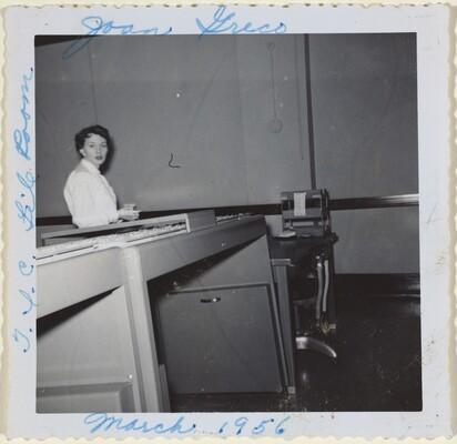 Joan Greco, T.L.C. File Room