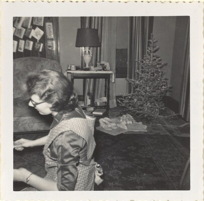 Xmas '56 Dorie 'Beating Drums?'