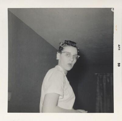 Doris Wright, February 1959