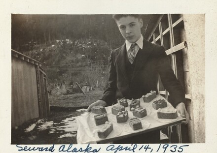 Seward Alaska April 14, 1935