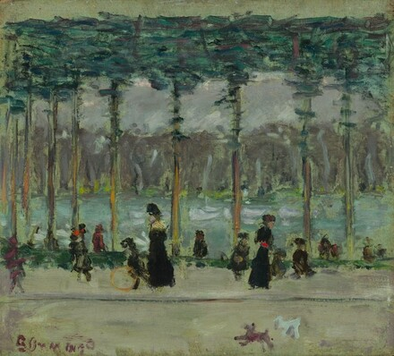 Walking at the Lake, Bois de Boulogne