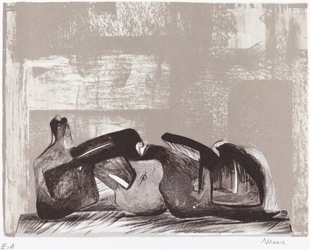 Reclining Figure, Interior Setting I