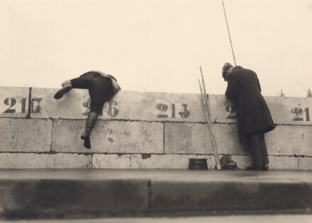 Angler auf der Brücke (Anglers on the Bridge)
