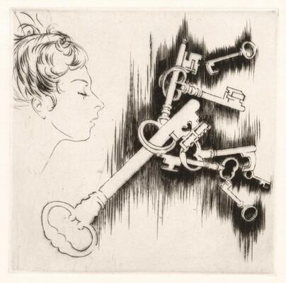 Les Clefs des Songes (The Key to Dreams) [plate 16]