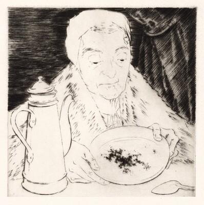 Le Marc de Café (Coffee Grounds) [plate 11]