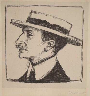 Emanuel Goldstein in a Hat