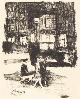 La Rue (frontispiece from Tableaux de Paris)