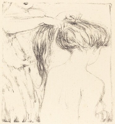 Woman Combing Her Hair, in Daphnis et Chloé