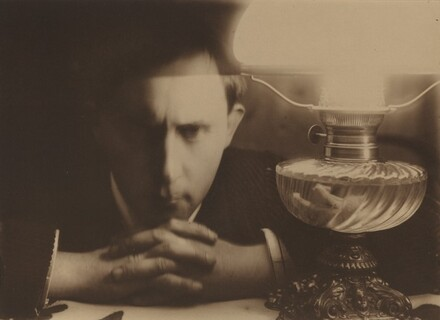 Self-Portrait (Collapse by the Lamp/Kolaps przy lampie)