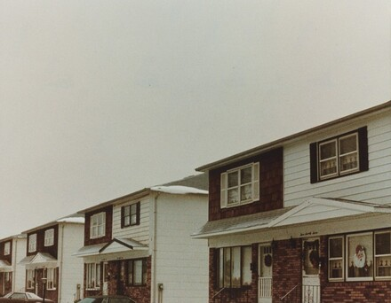 Christmas, Housing Project, Staten Island, New York City