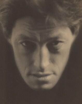 Sadakichi Hartmann as Japanese Mask