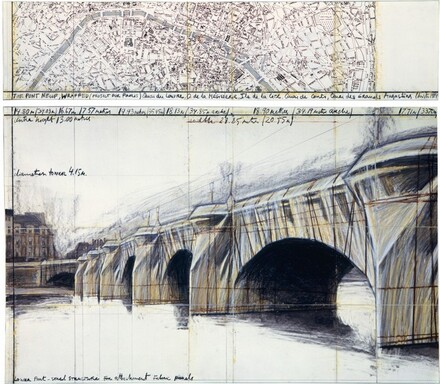 The Pont Neuf Wrapped, Project for Paris