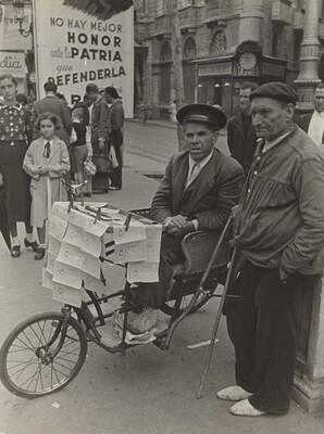 National Lottery, Barcelona, Spanish Civil War