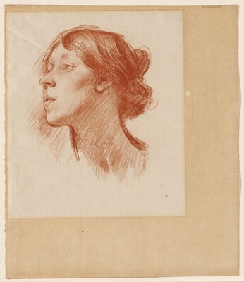 Head of a Young Woman (Virginia Woolf?)