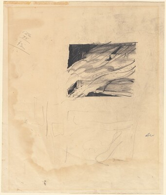Study for Wind from the Sea (recto)