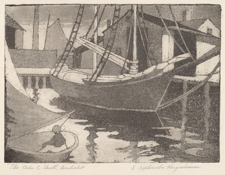 Ada C. Shull, Nantucket