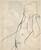 Untitled [female nude in profile] [verso]