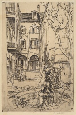Untitled (Courtyard, New Orleans)