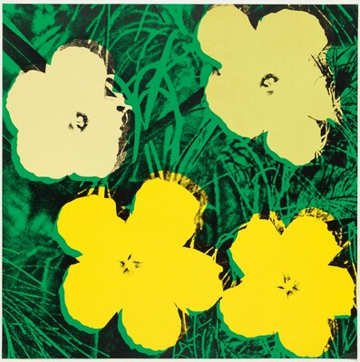 Flowers (yellow, gold, green)