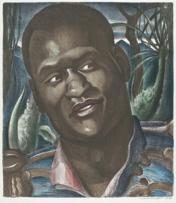 Portrait of Paul Robeson (as Emperor Jones)