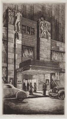 Entrance to Radio City, Rockefeller Center, New York