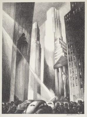 Untitled (Manhattan Scene)