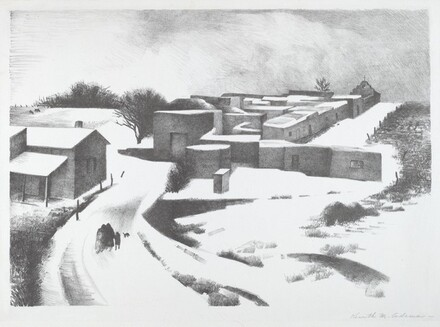 New Mexico Under Snow