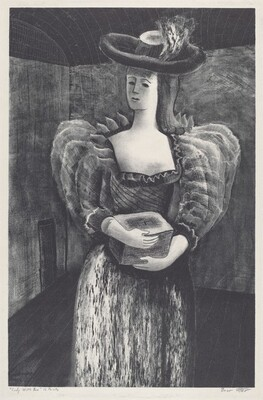 Lady With Box
