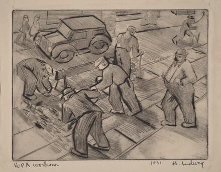 WPA Workmen