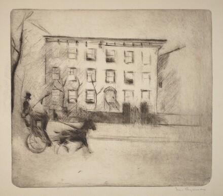 Morton Street House - Winter