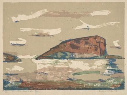 Mountain, Lake & Sky