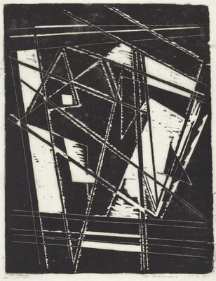 Composition II - Window Construction on Window