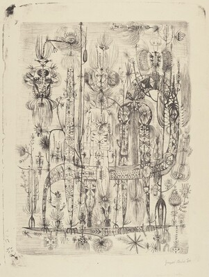 Untitled (Totemic Figures)