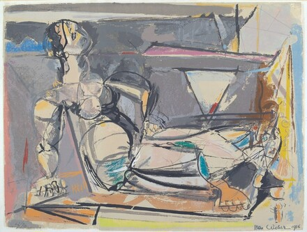 Untitled (Reclining Nude)