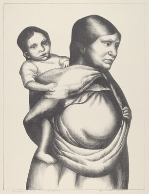 Indian Woman and Child