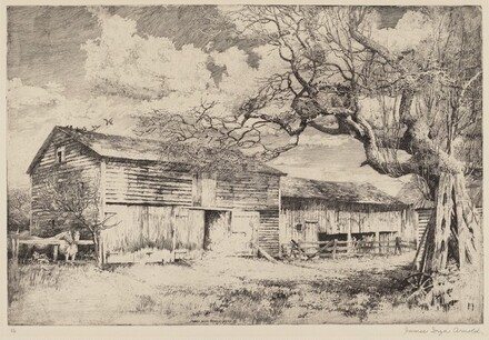 Untitled (The Old Red Barn)