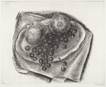 Untitled (Quince and Grapes)