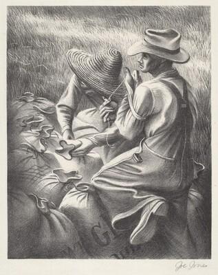 Untitled (Sacking Grain)