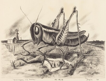 Grasshopper and Farmer