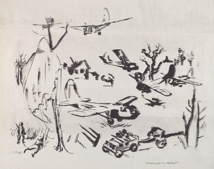 Untitled (War Scene)