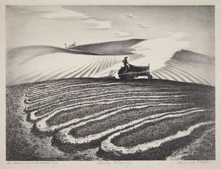 Dusty Plowing