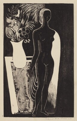 Nude with Vase