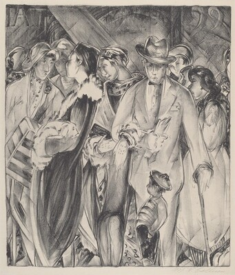 Untitled (Socialites and Street Urchin)