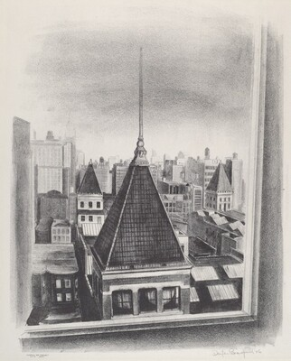 Untitled (New York Rooftops)